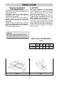 Smeg SE32CX Use, installation and maintenance instructions - Page 7