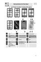 Smeg PDX30B Instruction manual - Page 5