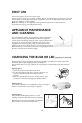 Smeg Refrigerator Instructions for the user - Page 2