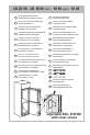 Smeg Refrigerator Instructions for the user - Page 8