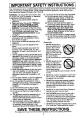 Panasonic NN-L531 Operating instructions manual - Page 4