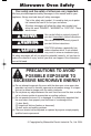 Panasonic NN-P794BF Operating instructions manual - Page 2