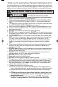 Panasonic NN-P794BF Operating instructions manual - Page 3