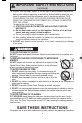 Panasonic NN-P794BF Operating instructions manual - Page 4