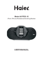Haier IPDS-10 Operation & user's manual - Page 1