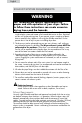 Haier CHDE5000AW User manual and installation instructions - Page 8