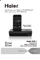 Haier IPDS-1 Operation & user's manual - Page 1
