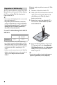Sony KDL-26NL140 - Bravia Nl Series Lcd Television Operating instructions manual - Page 8