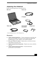 Sony PCG-FXA53 Quick start manual - Page 7