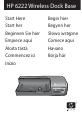 HP C8907A - Photosmart M-series Dock Digital Camera Docking Station Setup manual - Page 1
