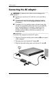 HP dv8000 - 403809-001 Notebook Laptop Keyboard Manual - Page 7