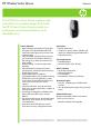 HP EW207AA - Wireless Laser Mouse Datasheet - Page 1