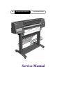 HP DesignJet 1055CM Service manual - Page 3