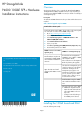 HP StorageWorks P4000 Hardware installation instructions - Page 1