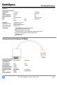 HP F3W43AA Quickspecs - Page 6