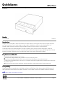 HP Cash Drawer Specification - Page 1