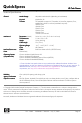 HP Cash Drawer Specification - Page 3