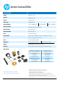 HP Action Cam ac200w Datasheet - Page 2