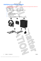 HP Bluetooth Active Noise Cancellation Stereo Headphones Operation & user's manual - Page 6