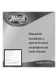 Hunter 21620 Installating and operation manual - Page 1