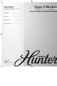 Hunter 22388 Owner's manual and installation manual - Page 1