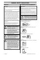 Husqvarna 327P4 Operator's manual - Page 6