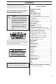 Husqvarna 323R, 325RX-Series, 325RDX-Ser Operator's manual - Page 3