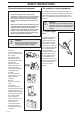 Husqvarna 323R, 325RX-Series, 325RDX-Ser Operator's manual - Page 4