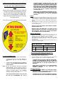 Jiffy 30 Series Operating manual/parts manual - Page 3