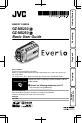 JVC Everio GZ-MS250U Basic user's manual - Page 1