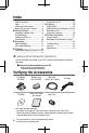 JVC Everio GZ-MS250U Basic user's manual - Page 4