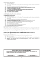 Bakers Pride BCO-E1 Install and operation instructions - Page 6