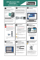 Acroprint ATRx Biometric 1000 Quick start manual - Page 1