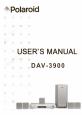 Polaroid DAV-3900 Operation & user's manual - Page 1