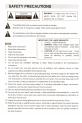 Polaroid DAV-3900 Operation & user's manual - Page 3