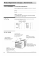 Frigidaire LRA087AT710 Use & care manual - Page 4