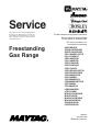 Maytag AGR4400ADW Service - Page 1