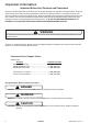 Maytag AFU1202BW Service - Page 2