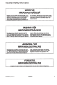 Maytag ALD510 Service manual - Page 5