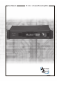 Architectural Acoustics IP-Six Operation & user's manual - Page 1