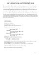Artemis Labs DP-2 Operating manual - Page 3