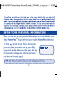 Weight Watchers PointsPlus Operation & user's manual - Page 6