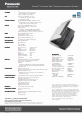 Panasonic Toughbook CF-50LB2UDKM Specifications - Page 2