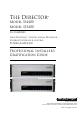 AudioControl D3400 Installer's manual - Page 1