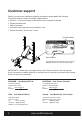York Fitness 45070 Owner's manual - Page 4