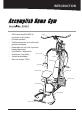 York Fitness Inspiration 50026 Instruction manual - Page 5