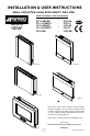 Smeg L23 CLASSIC Installation & user's instructions - Page 1
