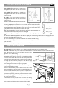 Smeg L23 CLASSIC Installation & user's instructions - Page 7