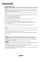 Haier LE32G650A Owner's manual - Page 6