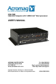 Acromag IOS-7400 Operation & user's manual - Page 1